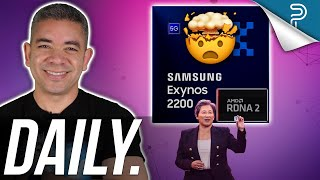 AMD FIXES Samsung Exynos Chips (Console Graphics), iPhone 13 Battery Leaks & more!