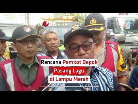 Rencana Pemkot Depok Pasang Lagu di Lampu Merah