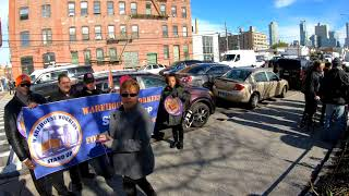 NYC Amazon HQ2 Protests in Long Island City, Queens - November 14, 2018