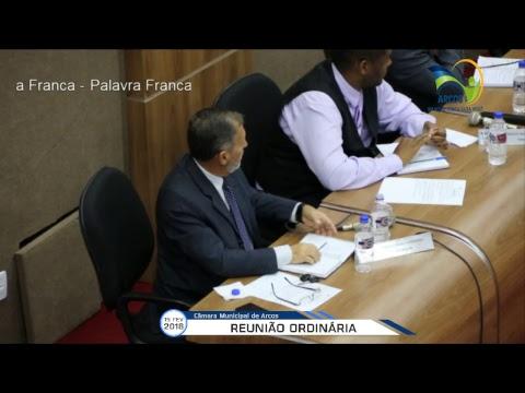 Reunião Ordinária (19/02/2018) - Câmara de Arcos