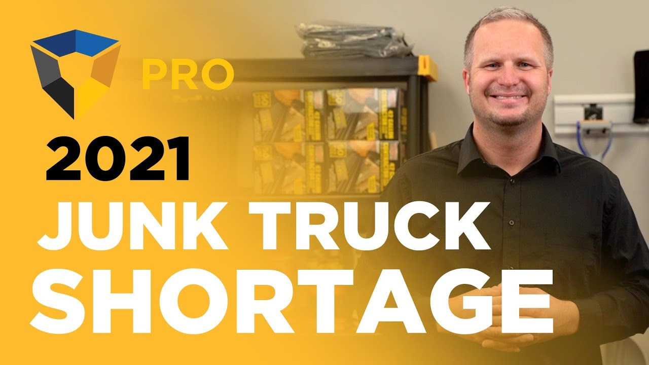 The Upcoming Junk Removal Truck Shortage... Be Prepared!