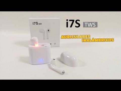 i7S TWS |AURICULARES INALÁMBRICOS ESTILO AIRPODS