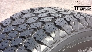 New Goodyear Wrangler Pickup Tire Tech Demo