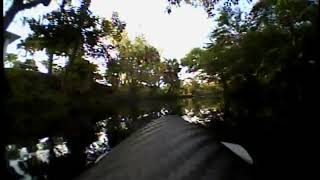 UMX Turbo timber fpv on floats maiden flight in micro amazon river????