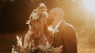 Youre My Favorite Place To Go - Lindsey & Chances Boho Wedding Film- Concord, NC