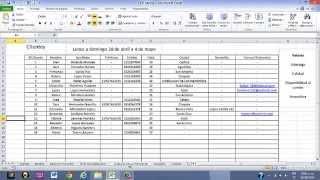 ERP Excel
