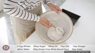 gluten free vegan bread machine recipe uk