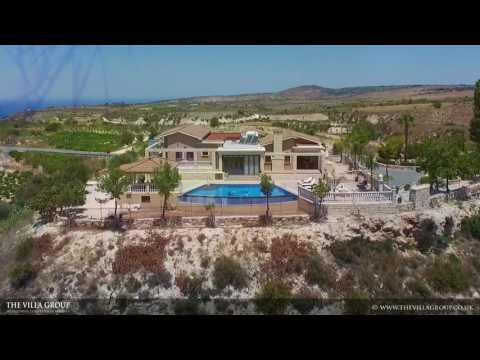 6 bedroom classical villa 413598 with stunning views located in Peyia Hills, Paphos, Cyprus