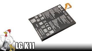 Guía del LG K11: Cambiar batería