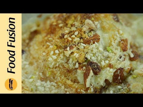 Umm Ali a famous Egyptian dessert recipe by Food Fusion