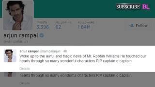 Robbin Williams' death: Abhishek Bachchan, Varun Dhawan, Riteish Deshmukh mourn