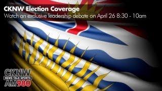 CKNW Leadership Debate