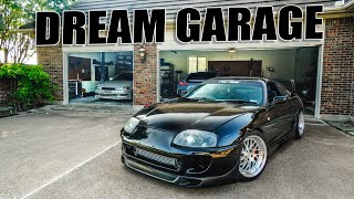 SETTING UP THE DREAM GARAGE V.2!