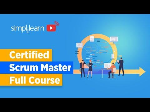 Certified Scrum Master Full Course | Scrum Master Training | Scrum ...