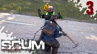 SCUM - Sweet Shotgun Find! (Multiplayer Gameplay Video) - EP03