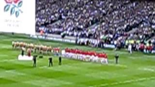 Twickenham - November 2008 - National Anthem