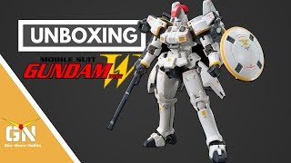 Unboxing: RG 1/144 Tallgeese