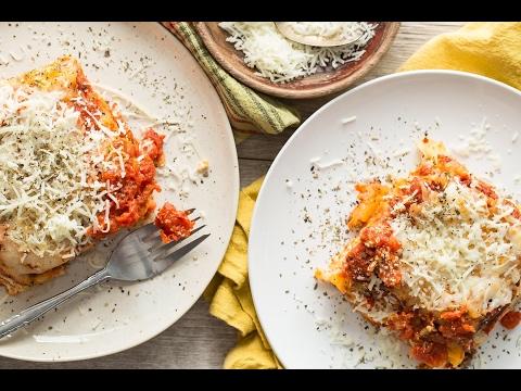 Veggie Lasagna - Slow Cooker Meals - Weelicious