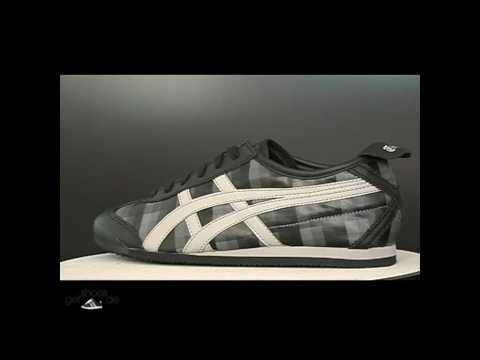 Asics Schuhe Onitsuka Tiger Mexico 66 Black Check/Paloma Sneaker bei www.getshoes.de