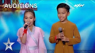 Cute Kids Once Upon A Time Stun The Audience!   Asia's Got Talent 2019 On AXN Asia