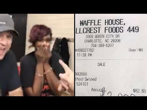 Waitress Thinks Man At Table Looks Familia When She Picks Up Check She Almost Faints