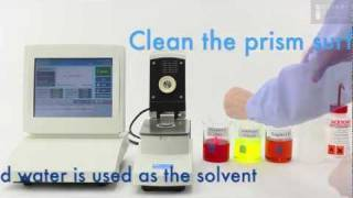 Refractometer Temperature Correction & Control using a Rudolph J457 Refractometer