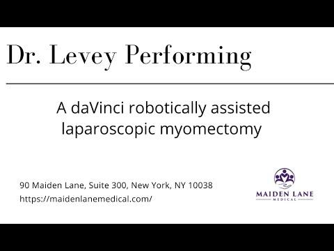 Laparoskopowa miomektomia w asyście robotowej