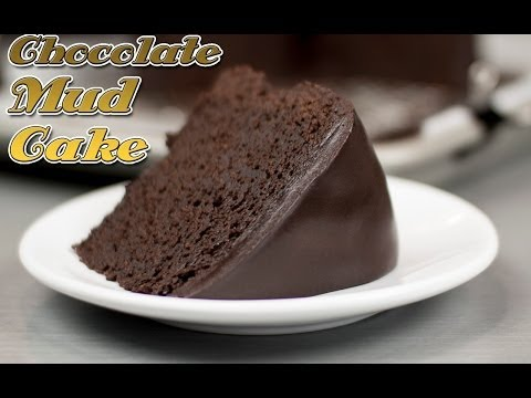 Video Easy Chocolate Mud Cake Recipe ! - Super Fudge Cake recipe
