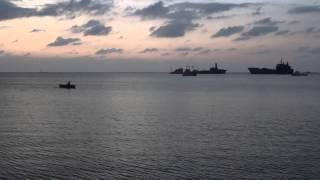preview picture of video 'Berbera sea sunset, Somaliland (1)'