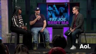 Remy Ma And Fat Joe Talk About DJ Khaled | BUILD Series