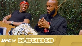 UFC 216 Embedded: Vlog Series - Episode 3