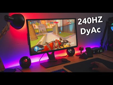 BenQ Zowie XL2546 Review! DyAc Has Ruined My Eyes Forever.. (IN A GOOD WAY)