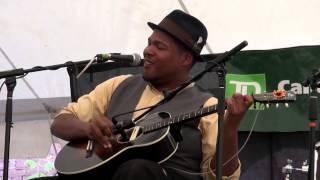 "Jerron ""Blind Boy"" Paxton - In a Shanty in Old Shanty Town - Live Orangeville Blues Festival 2014"