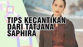 Hilangkan Pucat Wajah ala Tatjana Saphira, Cukup dengan Warna Lipstik