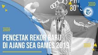 Profil Windy Cantika Aisah - Peraih Medali Emas SEA Games 2019 dan Pemecah Rekor Dunia