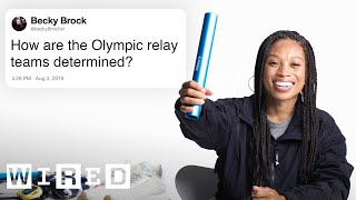 Olympic Runner Allyson Felix Answers Track Questions From Twitter | Tech Support | WIRED