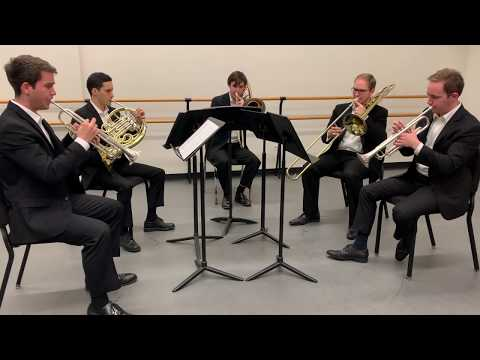 511 Brass playing Josquin at Juilliard