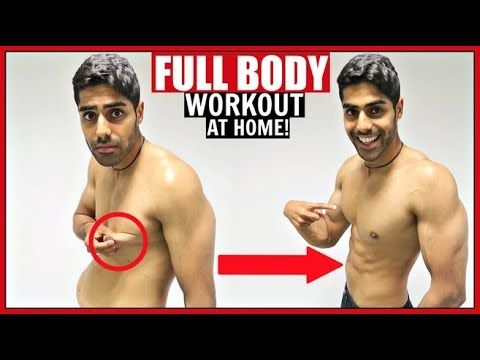 FULL BODY WORKOUT AT HOME | NO EQUIPMENT!!