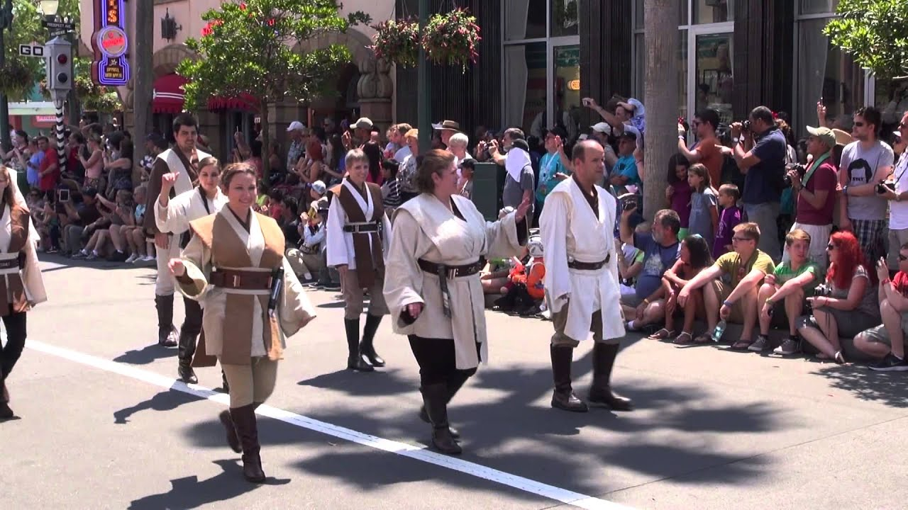 2014 Star Wars Weekends - Legends of the Force Motorcade Weekend 2