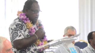 preview picture of video 'Honiara Symposium   Aug 2014   Welcome Address'