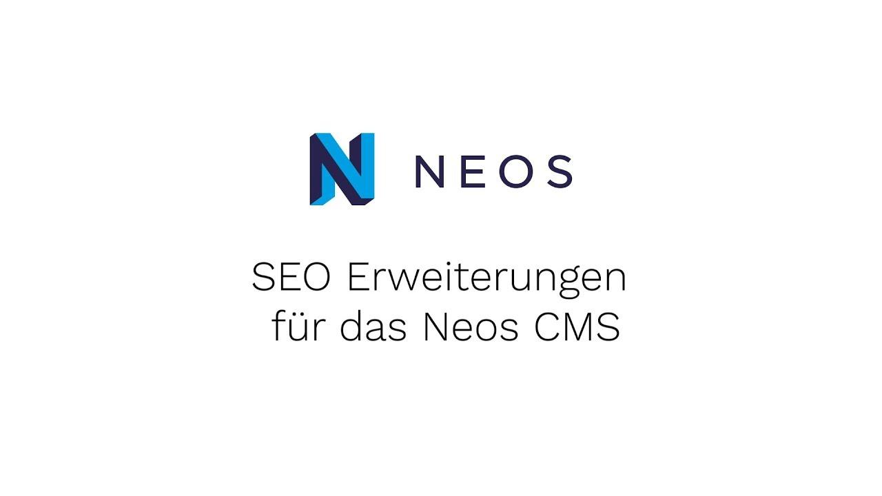 SEO Erweiterungen für das Neos CMS