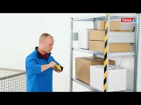 tesa® 60760 Adhésif de marquage au sol et d'objets pour marquage industriel