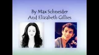 Somewhere only we know - Max Schneider ft  Elizabeth Gillies - Lyrics