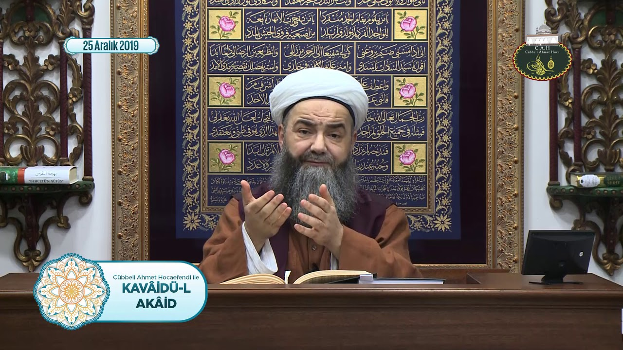Kavâidü'l Akâid Dersi 20. Bölüm