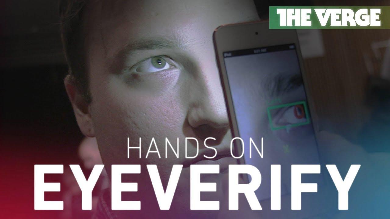 EyeVerify Eyeprint hands-on thumbnail
