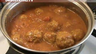 Błyskawiczne klopsiki w sosie pomidorowym :: Skutecznie.Tv