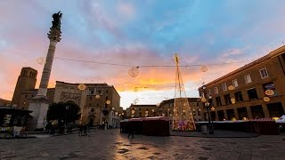 preview picture of video 'Merry Christmas & New Year from Lecce (with drone)'