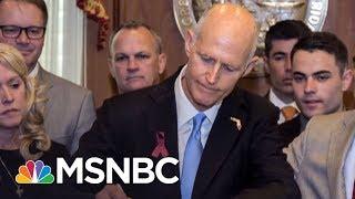 NRA Can't Scare Youths Demanding Gun Control | AM Joy | MSNBC