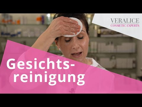Gesichtsreinigung - TOP 5 Pflegeschritte  (so geht's richtig!)