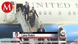 Trump quiere acercarse bastante a AMLO- Larry Rubin
